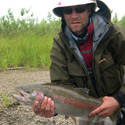 huge rainbow trout