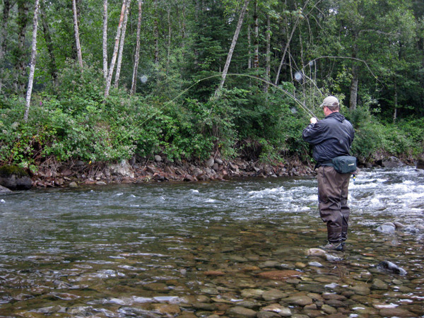 Oregon fly fishing report small stream outfitters for Sandy river fishing
