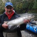 jim with a nice winter steelhead