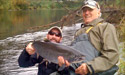 Chinook on 4 weight fly rod