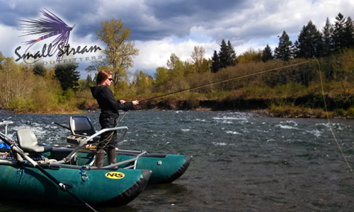 Oregon fly fishing report small stream outfitters for Northwest fly fishing outfitters