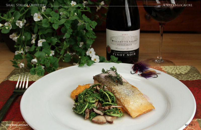 steelhead and pinot noir